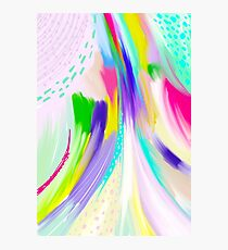 Colorful Abstract Painting Photographic Print