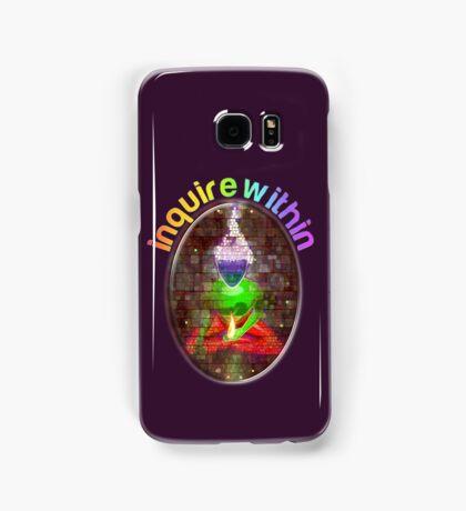 inquire within (rainbow meditation) Samsung Galaxy Case/Skin