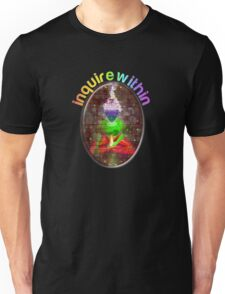 inquire within (rainbow meditation) T-Shirt