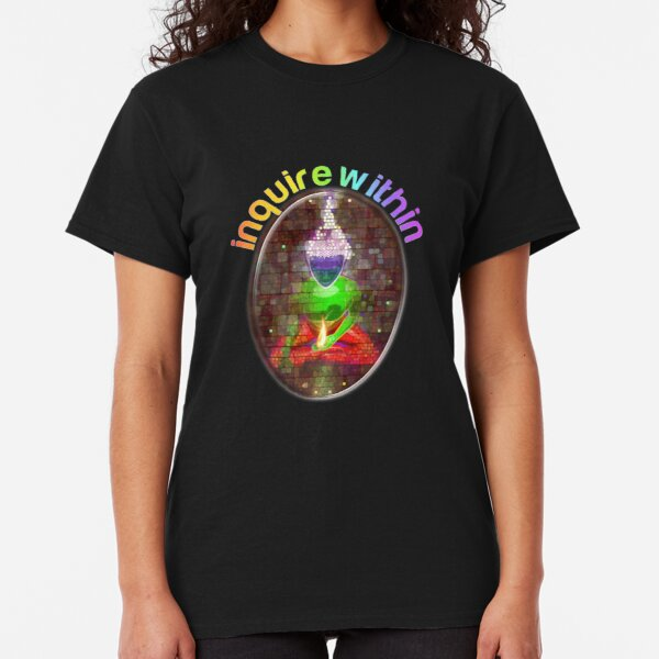 inquire within (rainbow meditation) Classic T-Shirt