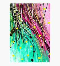 Modern Abstract Painting Photographic Print