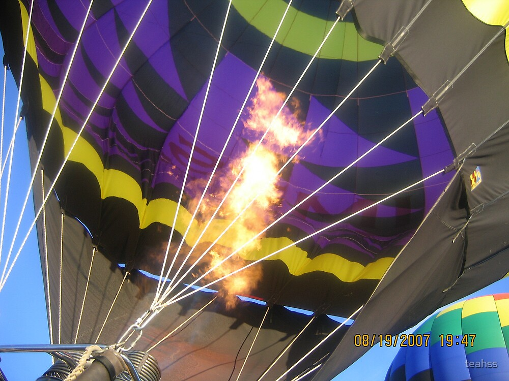 Hot Air Balloon by teahss