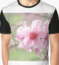 Peach Blossoms 2 Graphic T-Shirt