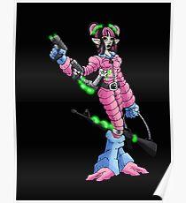 bounty hunter: 3-gun sally Poster