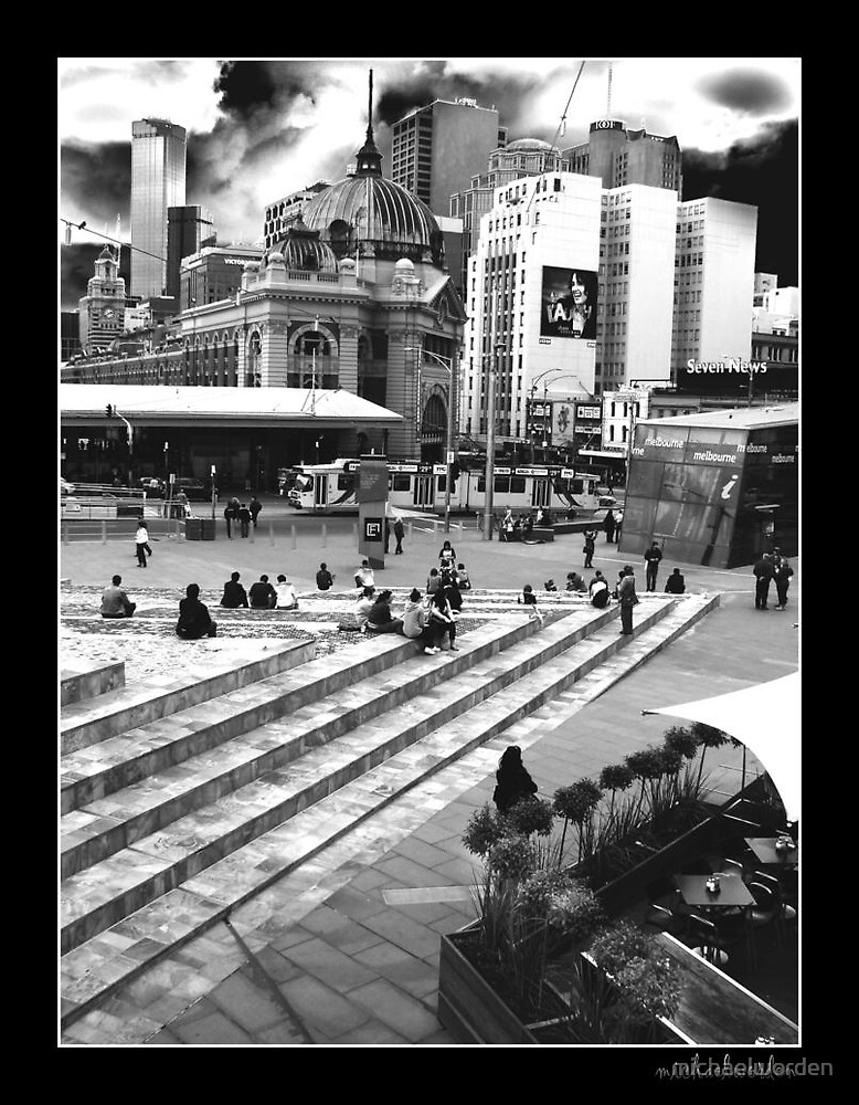 Federation Square by michaelworden
