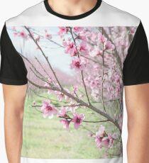 Peach Blossoms 3 Graphic T-Shirt