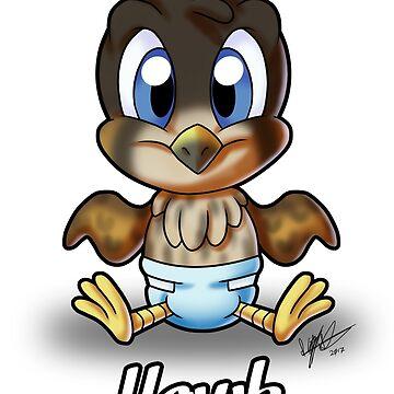 Baby Hawk by NeroStreet