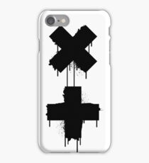 black white garrix iPhone Case/Skin