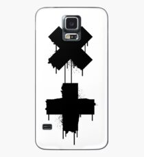 Funda/vinilo para Samsung Galaxy garrix blanco negro