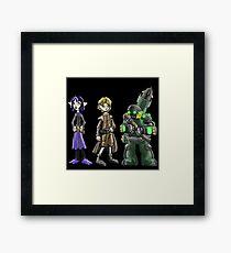 bounty hunters: kid posse... Framed Print