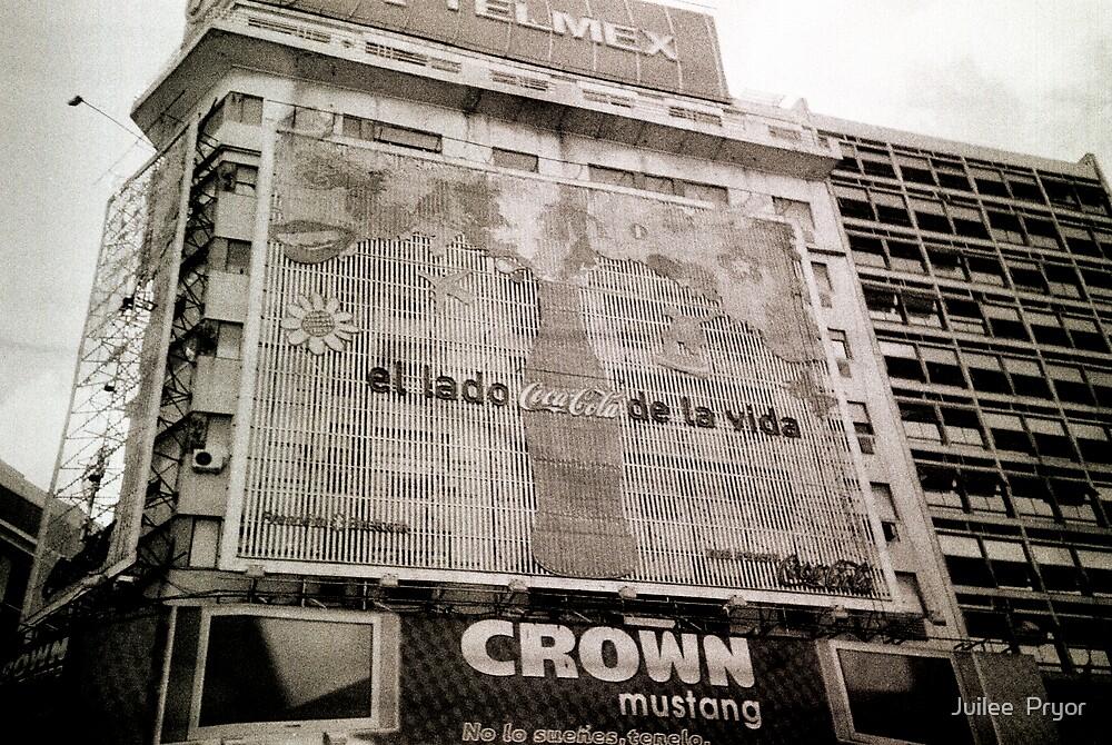 Coke Sign Lomo Argentina by Juilee  Pryor