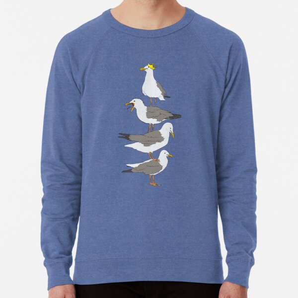 Stack of Seagulls Lightweight Sweatshirt