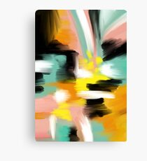 Colorful Abstract Painting Canvas Print