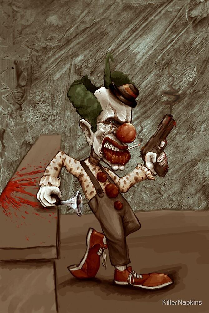Killer Clown by KillerNapkins