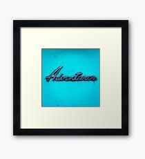 Adventurer. Framed Print