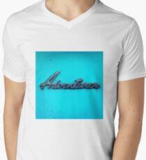 Adventurer. Men's V-Neck T-Shirt