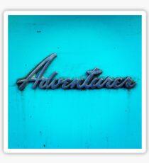 Adventurer. Sticker