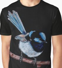 Superb Fairy Wren  Graphic T-Shirt