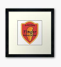 Greendale Finger Association Framed Print