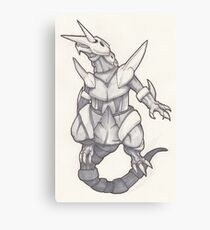 Mighty Aggron Canvas Print