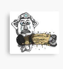 Mashed Potato Canvas Print