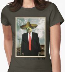 Trump Art. The Son of Alien.  Womens Fitted T-Shirt