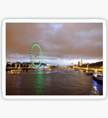 London by night Sticker