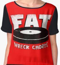 Fat Wreck Chords Women's Chiffon Top