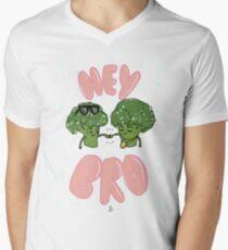 HEY BRO Men's V-Neck T-Shirt