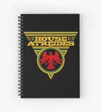 Dune HOUSE ATREIDES Spiral Notebook