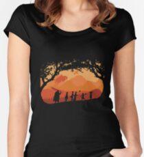 The Fellowship of the Berserk Women's Fitted Scoop T-Shirt