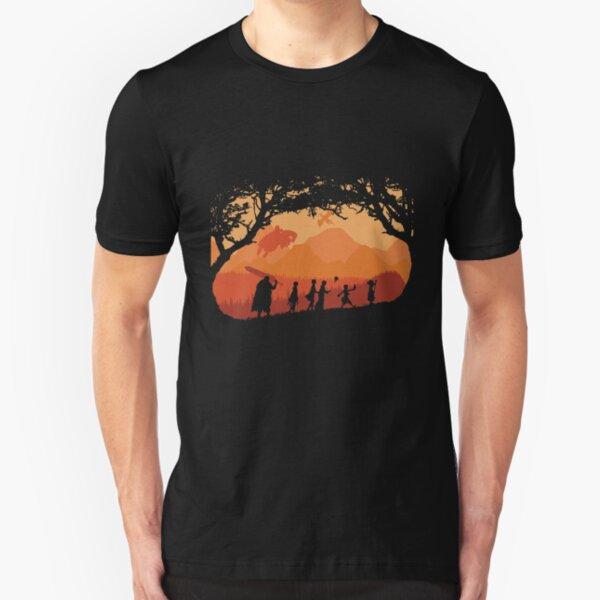 The Fellowship of the Berserk Slim Fit T-Shirt