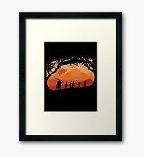The Fellowship of the Berserk Framed Print