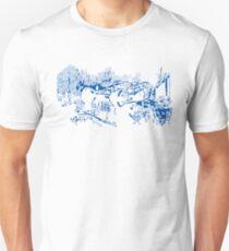 Flying Police Work - BLUE T-Shirt
