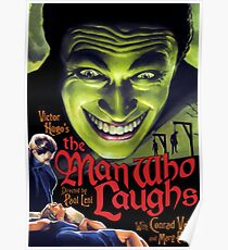 The Man Who Laughs vintage movie poster Poster