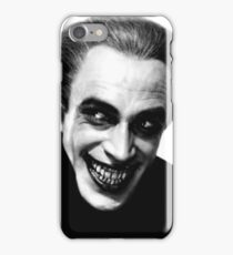 The Man Who Laughs vintage photo iPhone Case/Skin