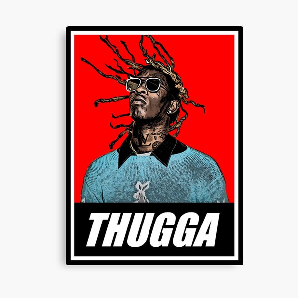 Young Thug Canvas Prints Redbubble
