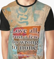 PEOPLE #shakespeare #love #trust Graphic T-Shirt