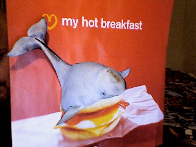 Whale McMuffin by atomikboy