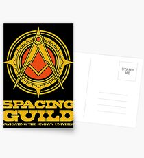 Dune SPACING GUILD Postcards