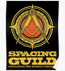 Dune SPACING GUILD Poster