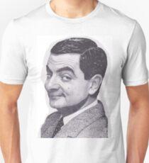 Rowan Atkinson as Mr. Bean Unisex T-Shirt