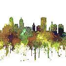 Buffalo, New York Skyline - SG - Safari Buff von Marlene Watson