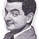 Rowan Atkinson as Mr. Bean by Richard-Gary Butler