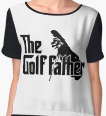 The Golf Father Chiffon Top