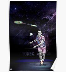 Lin Dan - Badminton Edit Poster