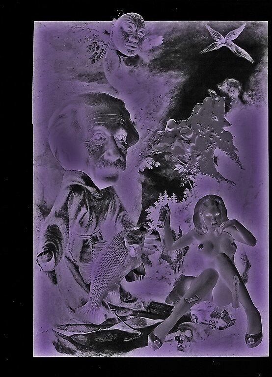 The ecstasy of Saint Albert (X-Ray Stylez) by atomikboy