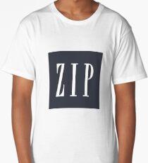 ZIP Long T-Shirt