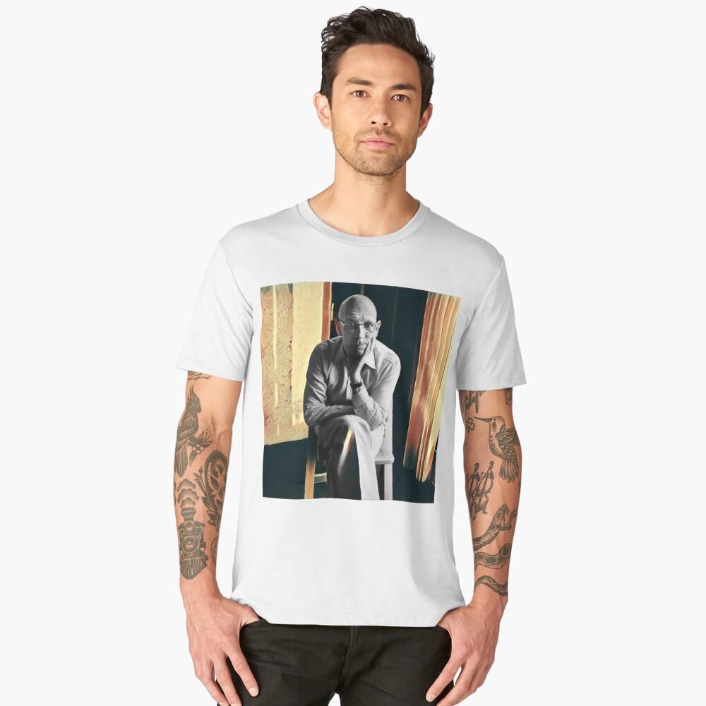 Foucault - stylized Men's Premium T-Shirt Front