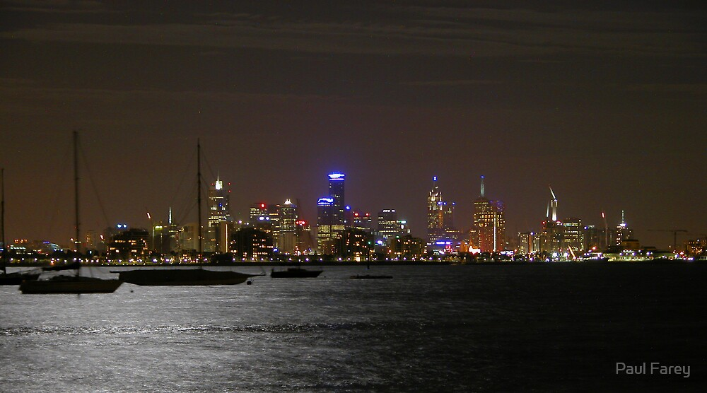 melbourne by night by numnuts